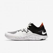 Sapatilhas De Treino Nike Free TR Flyknit 3 Mulher Branco/Pretas 942887-100