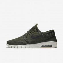 Nike SB Stefan Janoski Max Skateboarding Shoes Mens Sequoia/Gum Medium Brown/Light Bone/Black 631303-302