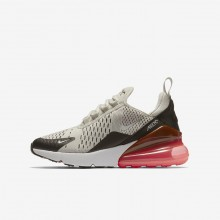 Zapatillas Casual Nike Air Max 270 Niño Claro Negras/Blancas 943345-002