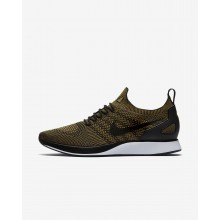 Nike Air Zoom Mariah Flyknit Racer Lifestyle Shoes Mens Black/Desert Moss 918264-004