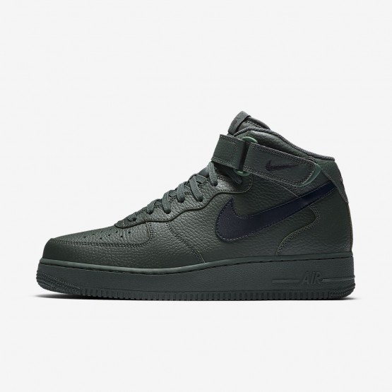 Nike Air Force 1 Mid 07 Lifestyle Shoes Mens Grove Green/Black 315123-303