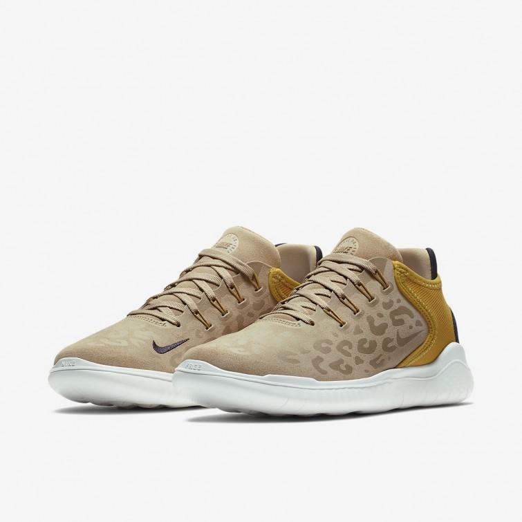 47e597cb51 ... Zapatillas Running Nike Free RN 2018 Wild Mujer Amarillo/Gris AQ0562-200