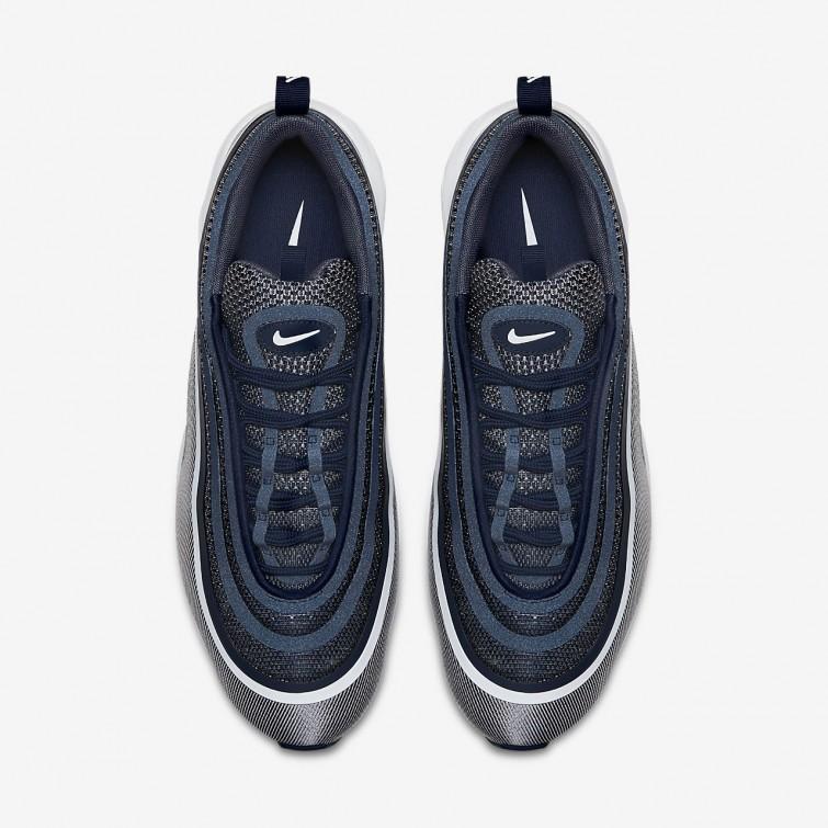 newest 83c2a 0ceb1 ... Zapatillas Casual Nike Air Max 97 Ultra 17 Hombre Azul MarinoClaro  Blancas 918356- ...