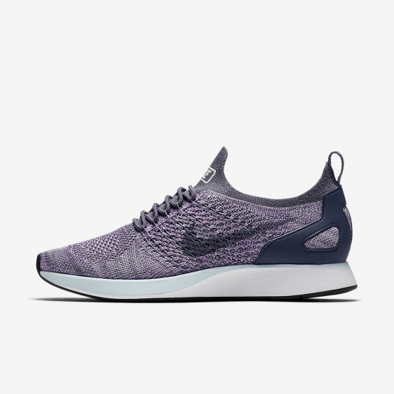 Nike Air Zoom Mariah Flyknit Racer Lifestyle Shoes Womens Light Carbon/Summit White/Glacier Blue AA0521-005