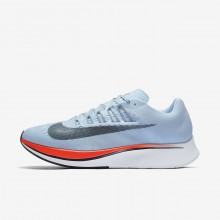 Nike Zoom Fly Running Shoes Mens Ice Blue/Bright Crimson/University Red/Blue Fox 880848-401