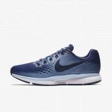 Nike Air Zoom Pegasus 34 Running Shoes Womens Blue Recall/Royal Tint/Black/Obsidian 880560-407