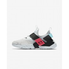 Nike Air Huarache Lifestyle Shoes Mens Pure Platinum/Racer Pink/Bleached Aqua/Black AH7335-003