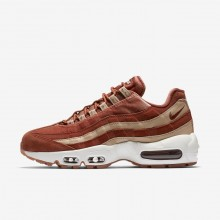 Nike Air Max 95 LX Lifestyle Shoes Womens Dusty Peach/Bio Beige/Summit White AA1103-201