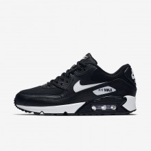 Nike Air Max 90 Lifestyle Shoes Womens Black/White 325213-047