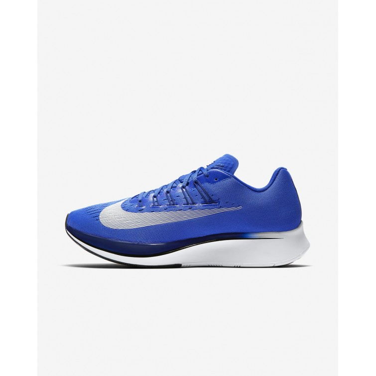 b3dfdfe09378 Nike Zoom Fly Running Shoes Mens Hyper Royal Deep Royal Blue Black White