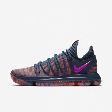 Nike Zoom KDX AS Basketball Shoes Womens Ocean Fog/Hyper Crimson/Fuchsia Blast 897817-400