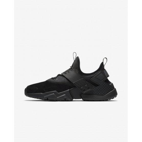 Nike Air Huarache Drift Premium Lifestyle Shoes Mens Black/White/Anthracite AH7335-001