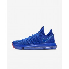 Nike Zoom KDX Basketball Shoes Womens Racer Blue/Black/Total Crimson/Light Menta 897815-402