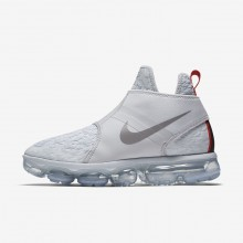 Nike Air VaporMax Lifestyle Shoes Mens Pure Platinum/White/Team Orange/Reflect Silver AO9326-001