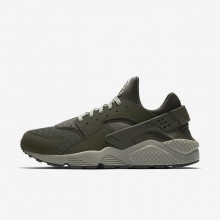 Nike Air Huarache Lifestyle Shoes Mens Sequoia/Dark Stucco/Black 318429-311