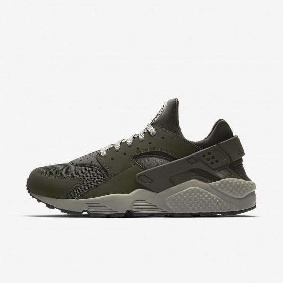 Nike Air Huarache Lifestyle Shoes Mens Sequoia/Dark Stucco/Black 318429-311
