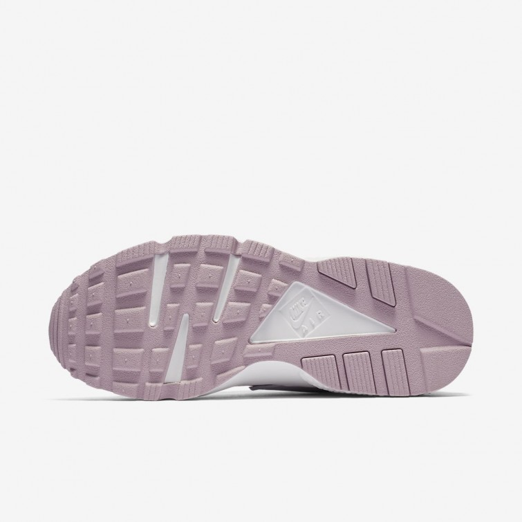 21983d3cafc7 Nike Air Huarache Lifestyle Shoes Womens Vast Grey Summit White Particle  Rose 634835- ...