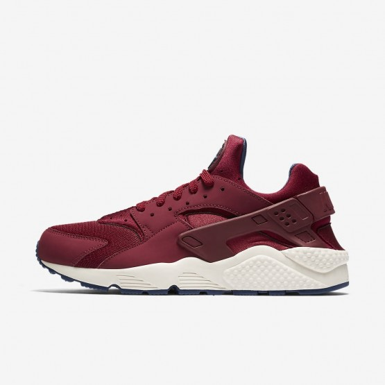 Nike Air Huarache Lifestyle Shoes Mens Team Red/Navy/Sail 318429-608