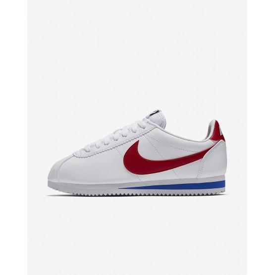 Nike Classic Cortez Lifestyle Shoes Womens White/Varsity Royal/Varsity Red 807471-103