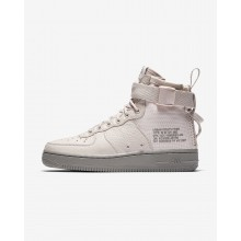Nike SF Air Force 1 Lifestyle Shoes Womens Siltstone Red/Dust AA3966-600
