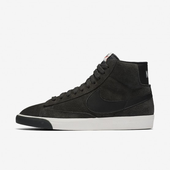 Nike Blazer Mid Vintage Lifestyle Shoes Womens Anthracite/Ivory/Gum Medium Brown/Black 917862-003