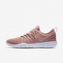 Nike Free TR7 Training Shoes Womens Rust Pink/White/Coral Stardust 904651-604