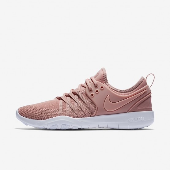 cd5c72e6087b Nike Free TR7 Training Shoes Womens Rust Pink White Coral Stardust  904651-604