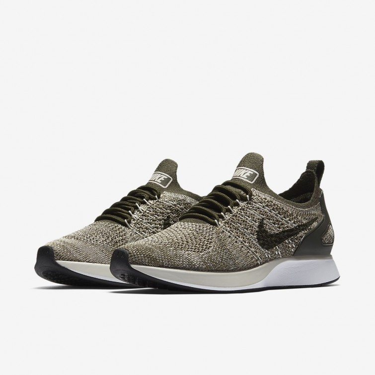 2c3dddf42f3f0 ... Nike Air Zoom Mariah Flyknit Racer Lifestyle Shoes Womens Cargo  Khaki Summit White Light
