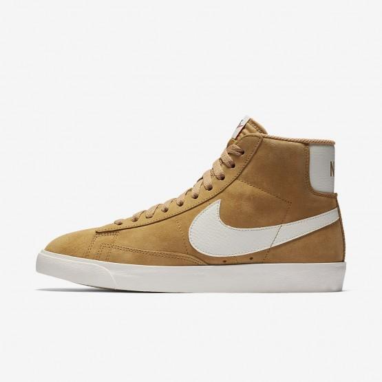 Zapatillas Casual Nike Blazer Mid Vintage Mujer Doradas/Negras 917862-700