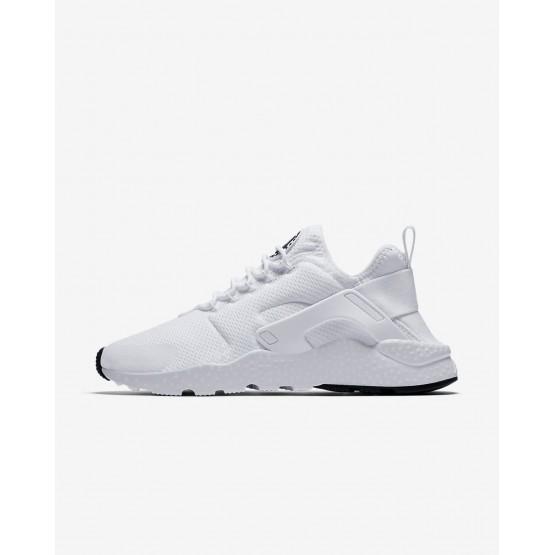 Nike Air Huarache Ultra Lifestyle Shoes Womens White/Black 819151-102