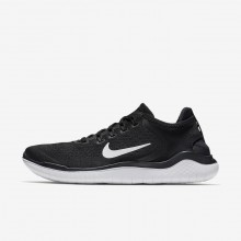 Nike Free RN Running Shoes Mens Black/White 942836-001