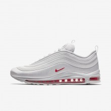 Nike Air Max 97 Ultra 17 L Lifestyle Shoes Mens Vast Grey/Total Orange/Atmosphere Grey AH9947-002