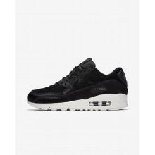 Nike Air Max 90 Lifestyle Shoes Womens Black/Dark Grey/Sail 898512-006