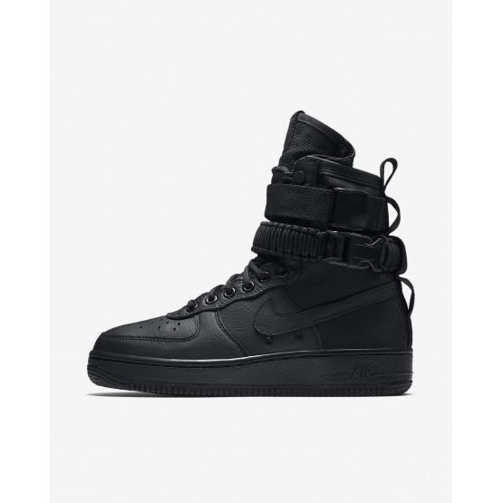 Nike SF Air Force 1 Lifestyle Shoes Womens Black 857872-002