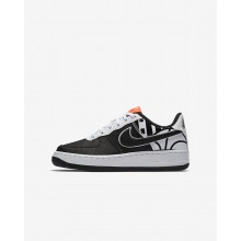 Zapatillas Casual Nike Air Force 1 LV8 Niño Negras/Blancas 820438-014
