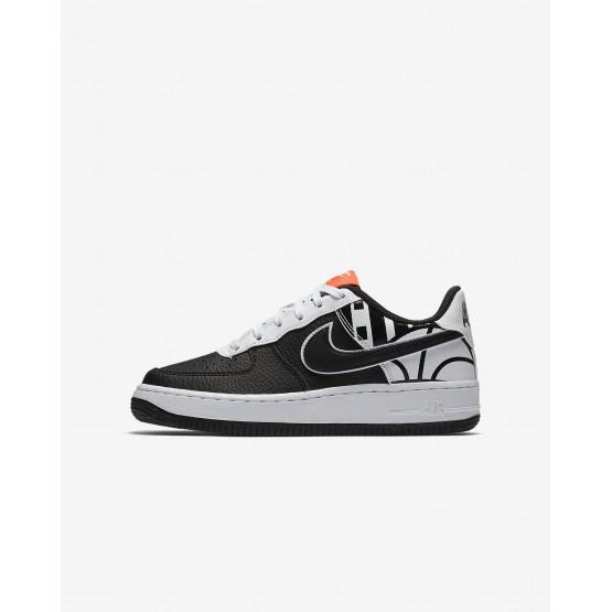 Nike Air Force 1 LV8 Casual Schoenen Jongens Zwart/Wit 820438-014