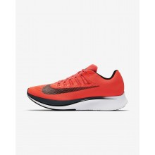 Nike Zoom Fly Running Shoes Mens Bright Crimson/Blue Fox/White/Black 880848-614