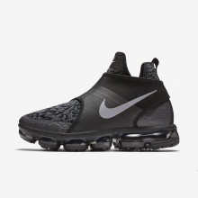 Nike Air VaporMax Lifestyle Shoes Mens Black/Anthracite/Team Orange/Reflect Silver AO9326-002