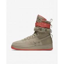 Nike SF Air Force 1 Casual Schoenen Heren Khaki/Koraal 864024-205