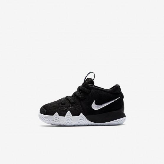 Zapatillas Baloncesto Nike Kyrie 4 Niña Negras/Azules Claro/Blancas AA2899-002