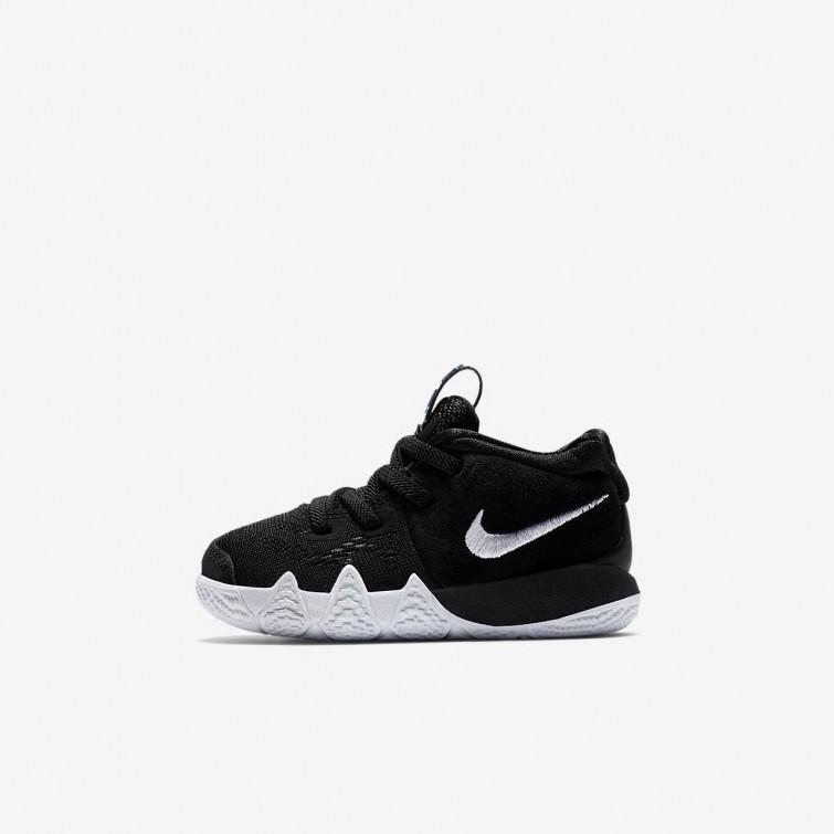 competitive price 14348 633d3 Nike Kyrie 4 Basketballschuhe Mädchen SchwarzHellBlauWeiß AA2899-002