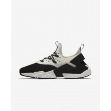 Nike Air Huarache Drift Lifestyle Shoes Mens Black/White/Sail AH7334-002