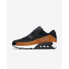 Nike Air Max 90 Lifestyle Shoes Womens Tar/Black/Cider 898512-005