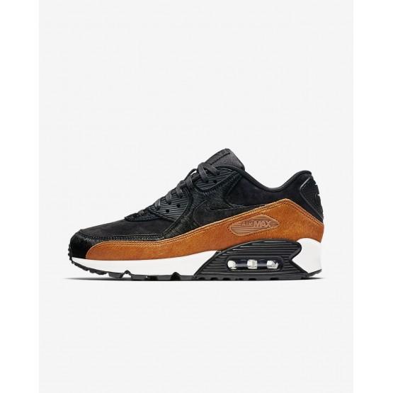 Nike Air Max 90 LX Casual Schoenen Dames Zwart 898512-005