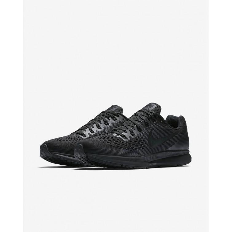 9d271eeb1e8 ... Nike Air Zoom Pegasus 34 Running Shoes Mens Black Anthracite Dark Grey  880555-