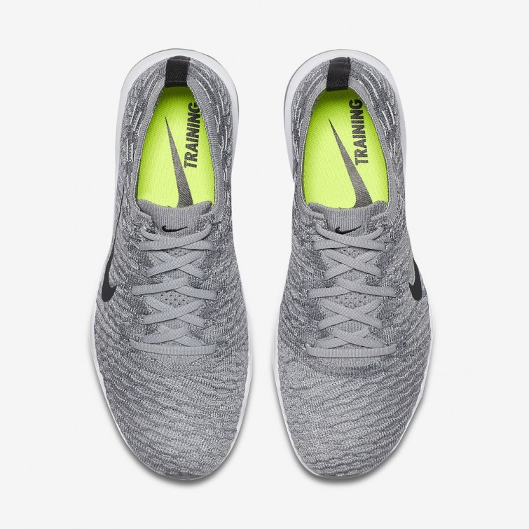 6d68d926cce889 ... Chaussure De Sport Nike Air Zoom Fearless Flyknit Lux Femme Grise/ Blanche 922872-002 ...