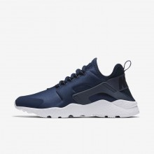 Nike Air Huarache Lifestyle Shoes Womens Navy/Obsidian/White/Diffused Blue 819151-404