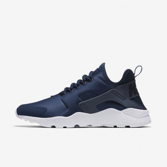 Nike Air Huarache Ultra Lifestyle Shoes Womens Navy/Obsidian/White/Diffused Blue 819151-404