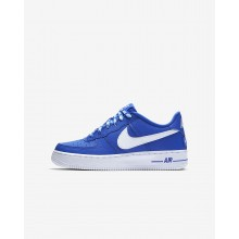 Nike Air Force 1 Lifestyle Shoes Boys Game Royal/White 820438-403