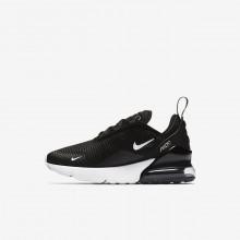 Nike Air Max 270 Lifestyle Shoes Boys Black/Anthracite/White AO2372-001